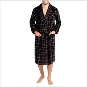 Tommy Bahama Men's Plush Fleece Robe Bathrobe